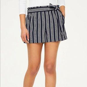 NWT Paper Bag Waist Shorts